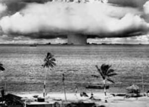 B&W nuclear bomb