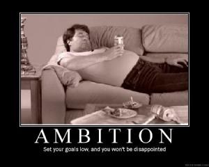 ambition-demotivator