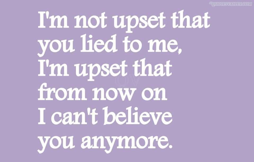 Image result for lies beget lies quote
